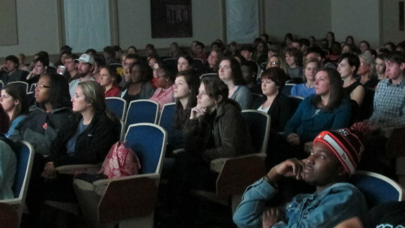 Auburn University screens the film Miss Representation for students.