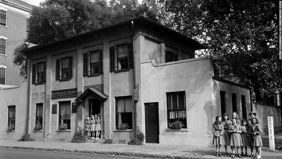 Unpublished. The Girl Scout Office and Juilette Low Museum in Savannah, Georgia.