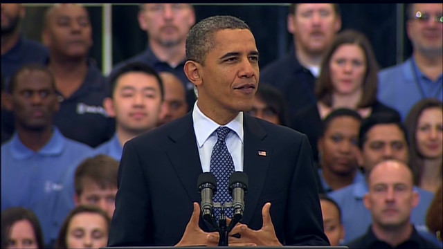 """Think of this as a place where companies can share access to cutting edge capabilities,"" President Obama says."