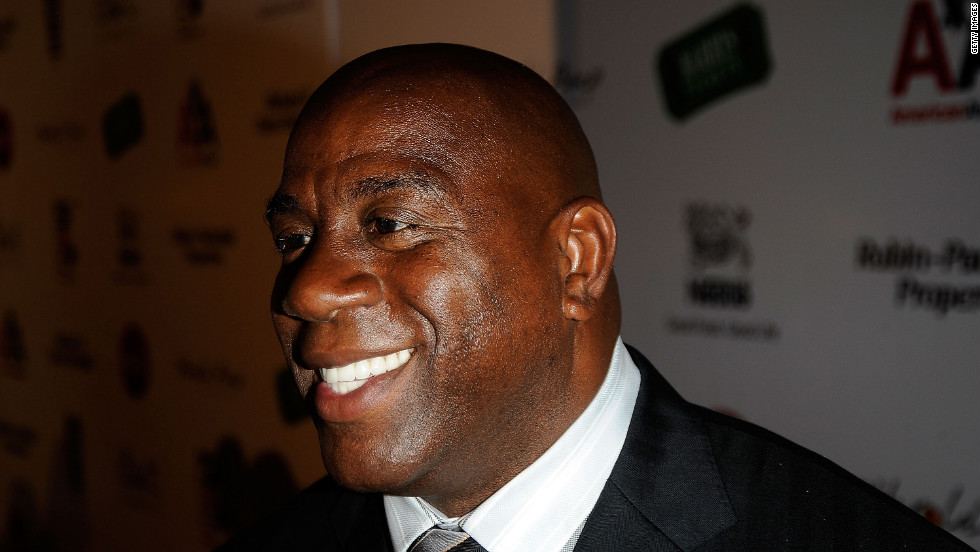 "<strong>9:</strong> Ervin ""Magic"" Johnson<br /><br /><strong>2015 Earnings: </strong>$18M<br /><br /><strong>Retired:</strong> 1996"