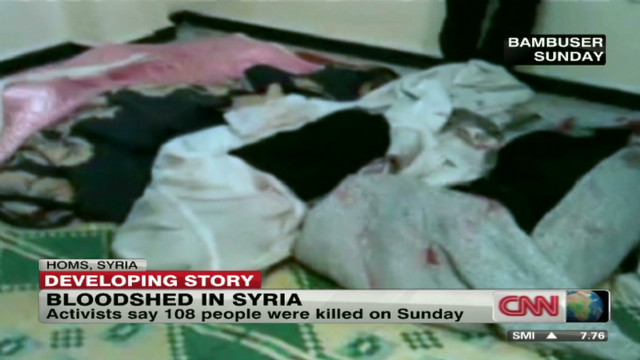 Activists accuse Syria of 'massacre'