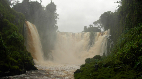 Kongou Falls, located in the heart of Gabon's Ivindo National Park, are some of the most impressive cataracts in the African continent.