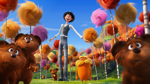 """Based on the 1971 Dr. Seuss classic, """"The Lorax,"""" the movie version was the No. 1 movie in the country for the past two weekends."""