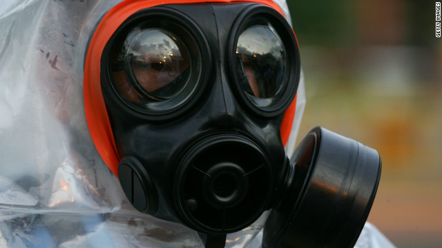 Nerve gas: How does it harm people?