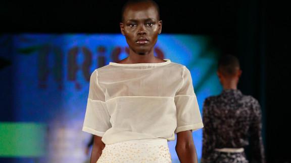 "Nigerian designer  Amaka Osakwe of Maki Oh was jointly named ""Designer of the Year,"" alongside Kluk CGDT."