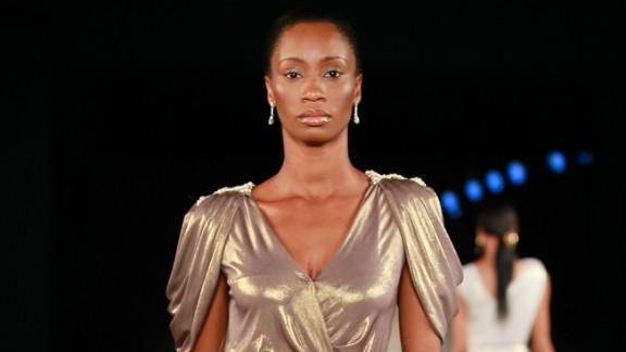 Nigerian luxury label House of Farrah, headed by Fatima Aliyu Garba creates designs for men and women.