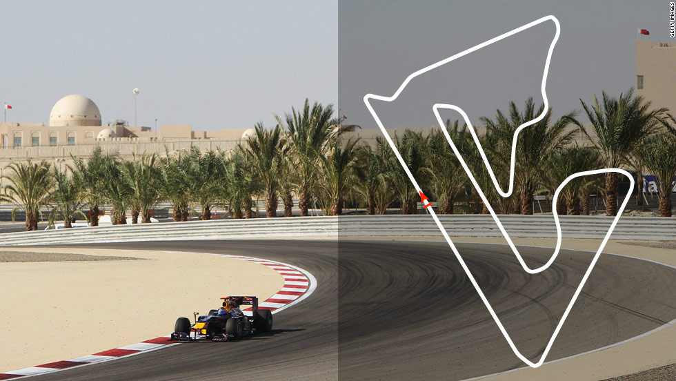 <strong>Bahrain Grand Prix:</strong> April 22, Sakhir  <strong>2012 champion:</strong> Sebastian Vettel, Red Bull