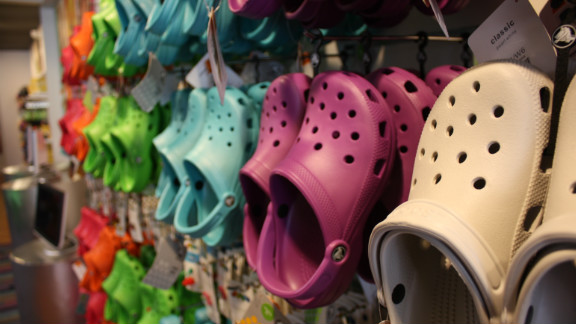 """Crocs clogs are undeniably popular, and their unique style has been copied and sold at popular retail stores. The prolific summer shoe has been scorned by fashionistas and others who have started blogs expressing their hatred for the shoes. There's even a Facebook page called """"I Don't Care How Comfortable Crocs Are, You Look Like a Dumba**,"""" which has 1.6 million """"likes."""""""