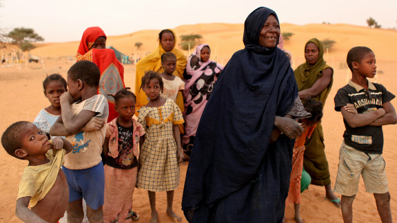 Slaves typically aren't bought and sold in Mauritania; they're born into slavery.