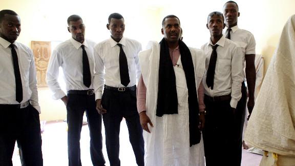 Biram Dah Abeid runs an abolitionist group called IRA Mauritania. He says he