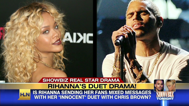 Rihanna speaks out on Chris Brown duet