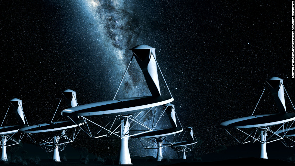 The ambitious project aims to build a giant radio telescope that will help scientists paint a detailed picture of some of the deepest reaches of outer space.
