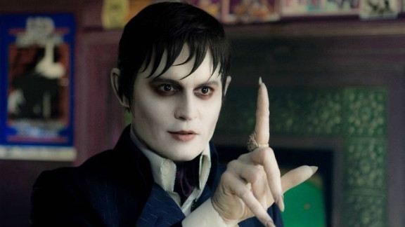 Johnny Depp stars as Barnabas Collins in Tim Burton
