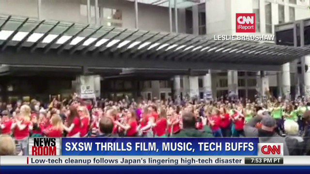 Angry Birds flash mob at SXSW