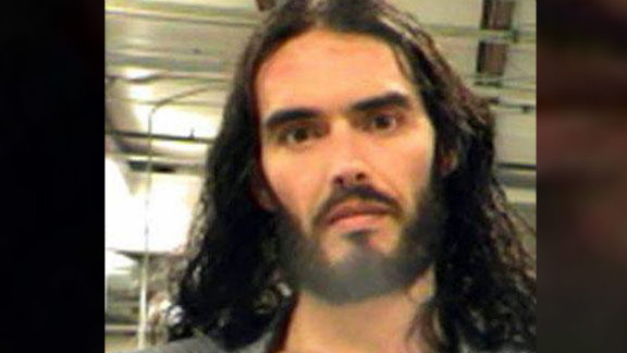 Funnyman Russell Brand landed himself in to the Orleans Parish Sheriff