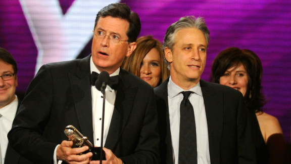 Stephen Colbert and Jon Stewart had a series of fat targets thanks to the election campaign -- and seldom missed their marks.