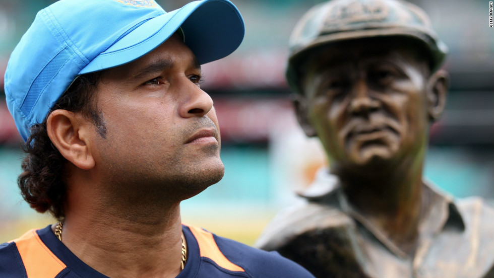 Debate still rages as to whether Tendulkar can be considered greater than Australian legend Donald Bradman, whose Test career ended in 1948 with an incredible average of 99.94, scoring 6,996 runs in 52 matches.