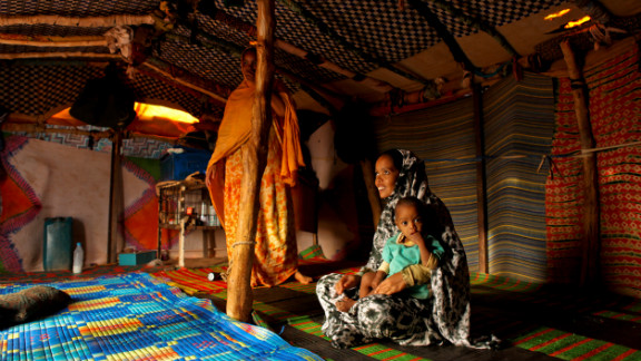 Life in Mauritania is hard for both slaves and some slave masters. Forty-four percent of people live on less than $2 per day.