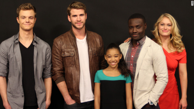 'Hunger Games' actors reveal fave foods