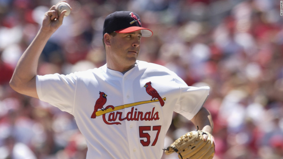 In 2002, St. Louis Cardinals baseball pitcher Darryl Kile was found dead in his hotel bed, having failed to turn up for pregame warm-ups following a heart attack.
