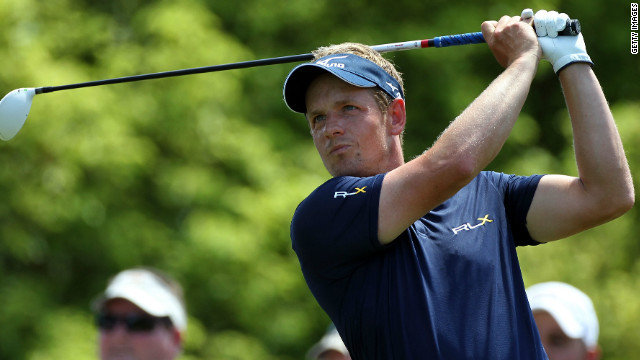 Luke Donald was top of the world rankings for 40 weeks before losing his spot to Rory McIlroy two weeks ago.
