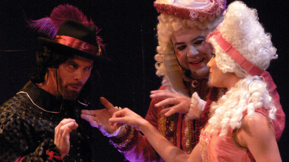 """The Troubadour Theater Company has melded """"Two Gentlemen of Verona"""" with song/dance performed to music by Chicago."""