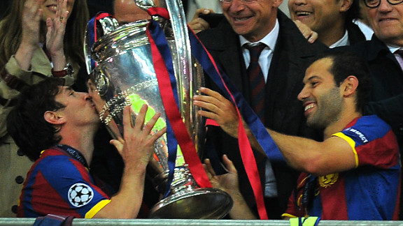 Messi haunted Manchester United in a Champions League final for the second time in 2011 when he scored the second goal as Barca beat the English Champions 3-1 at Wembley. It was Barca
