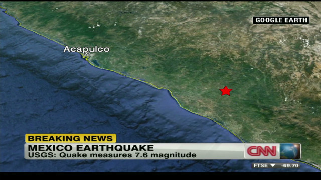 'Expect aftershocks from Mexico quake'