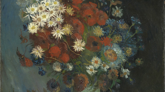 """""""Still life with Meadow Flowers and Roses,""""  a painting dismissed for years as the work of an unknown artist has been identified as a piece by Vincent Van Gogh."""