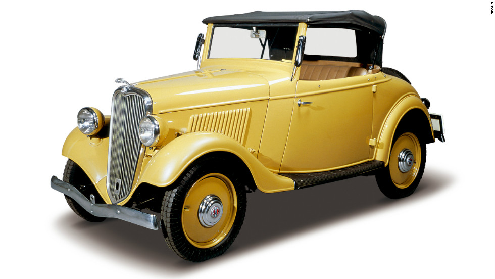 The Datsun Model 114, introduced in 1935.