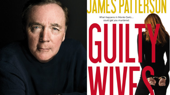 """James Patterson co-wrote his latest, """"Guilty Wives,"""" with David Ellis."""