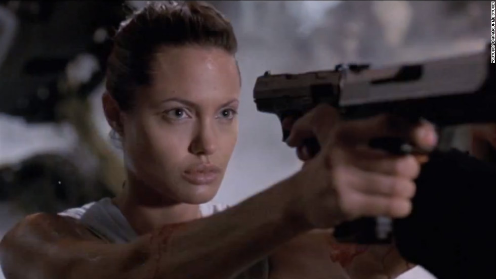 "<strong>""Lara Croft: Tomb Raider"": </strong>Angelina Jolie brings this video game character to life in this action/adventure film. <strong>(HBO Now)</strong>"