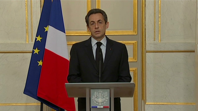 Sarkozy calls for unity in France