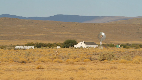 The Karoo is located in the driest part of the country and campaigners warn that water in the area could become contaminated as a result of fracking.