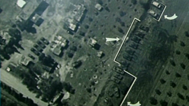 Syria's conflict seen from space