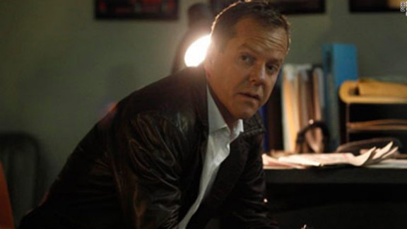 "Kiefer Sutherland starred as Jack Bauer in ""24."""