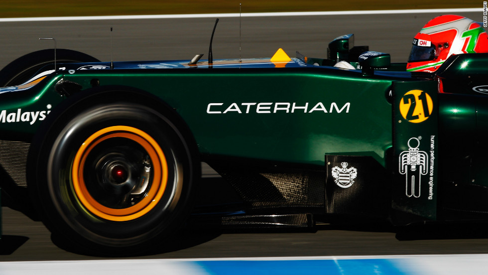 As a result of the court case, Fernandes' CNN-sponsored team were rebranded as the Caterham team for 2012.