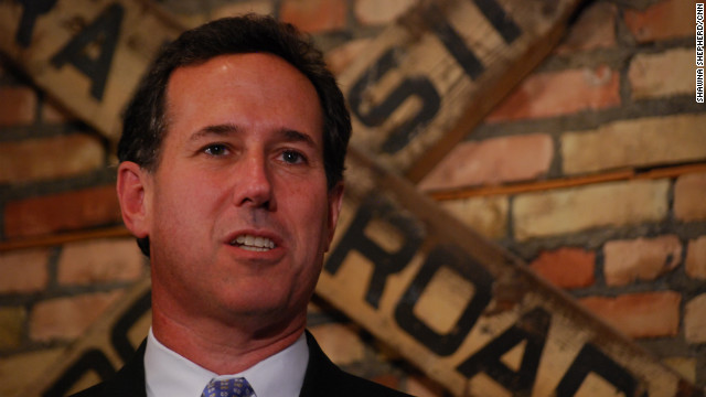 Santorum on Romney:  'Worst Republican'