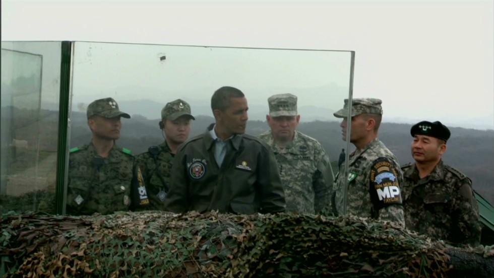 DMZ  Tensions high at the knife-edge of Korean conflict - CNN e8cf5e092