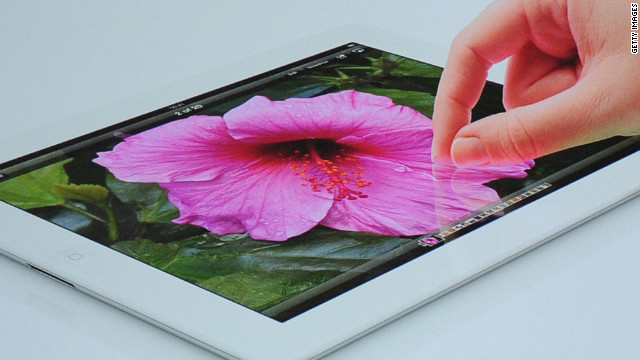 Image and video files need to be delivered at a higher resolution to accommodate the new iPad′s sharper screen.