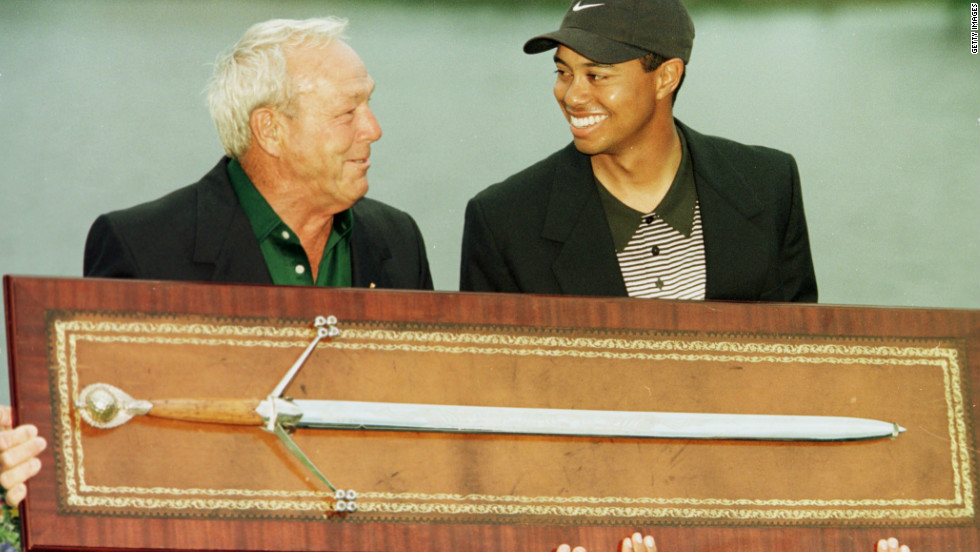 Woods picked up his first win at the tournament hosted by seven-time major winner Arnold Palmer in 2000, beating fellow American Davis Love III by four shots.