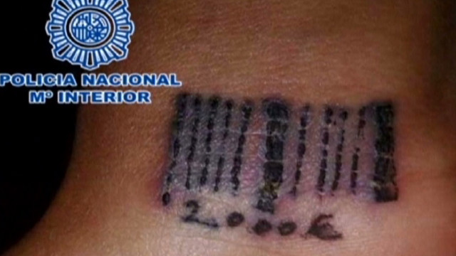 Pimps in Spain bar code prostitutes