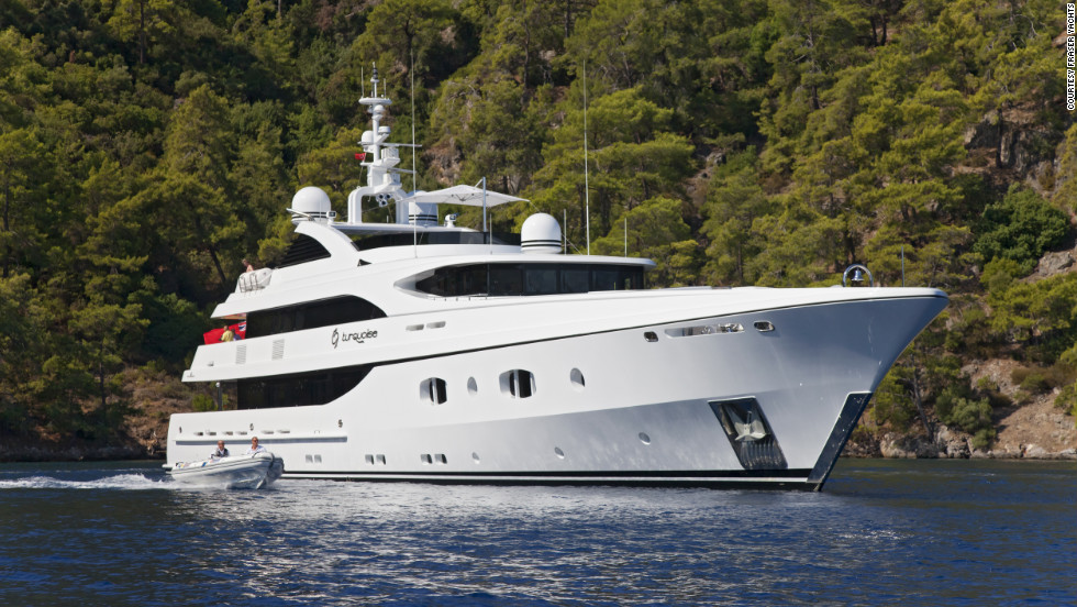 At A Cost Of 385000 Week Turquoise Is Fraser Yacht39s