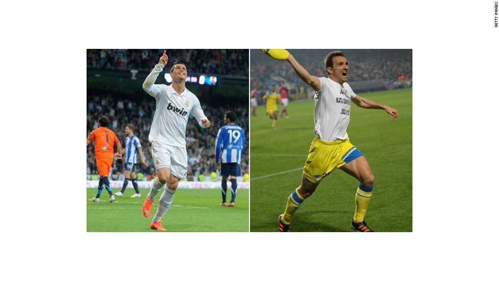 Real's main goal threat will be Portugal's Cristiano Ronaldo, who has scored six times in the Champions League this season. By contrast, APOEL's top goalscorer is Gustavo Manduca who has scored three times. The Brazilian will be suspended for Tuesday's first leg in Cyprus.
