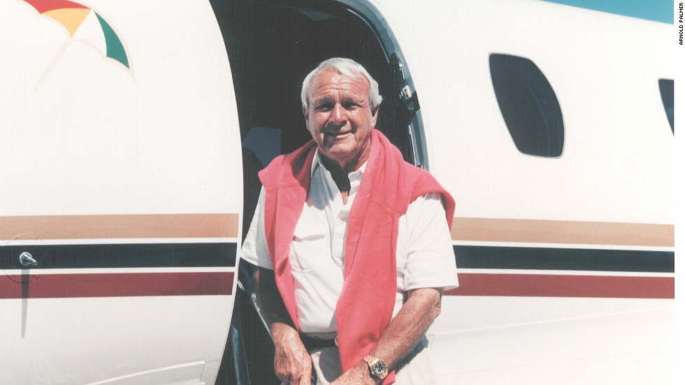 Palmer became the first player to win $1 million in PGA Tour earnings and finally ended his career in 2006 as a very wealthy man. A trained pilot, Palmer would regularly fly his own planes to tournaments and did not relinquish his license until he was 81.