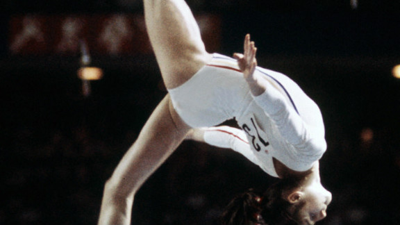 Comaneci was just 14 when she captured the imagination of sports fans around the world with her exploits in Canada.