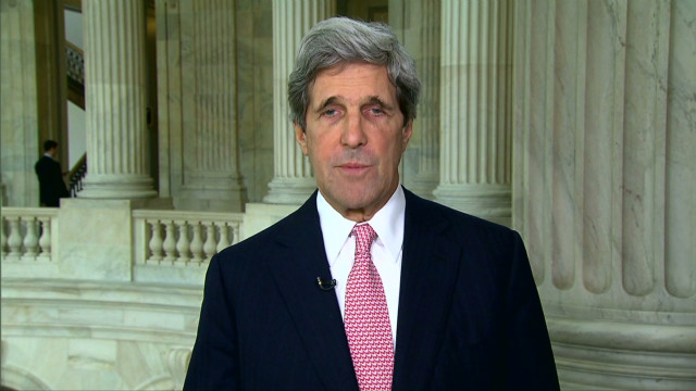 Sen. Kerry fights for health care act