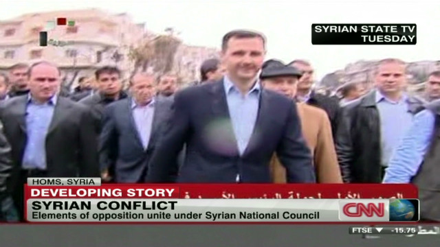 Peace plan working in Syria?