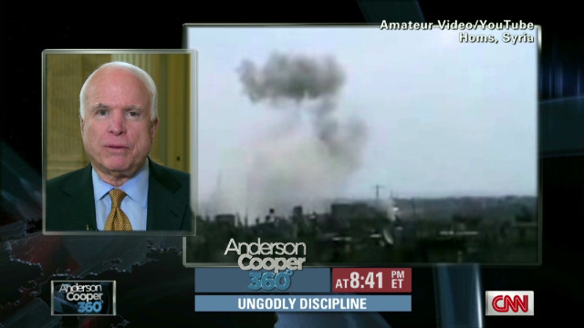 McCain: Syria not adhering to peace plan