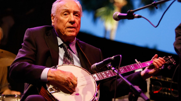 Earl Scruggs, whose distinctive picking style and association with Lester Flatt cemented bluegrass music
